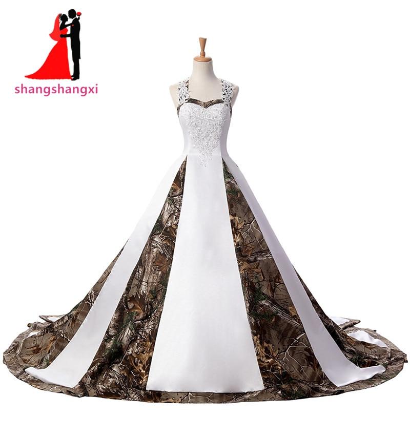 plus size camo wedding dresses photo - 1