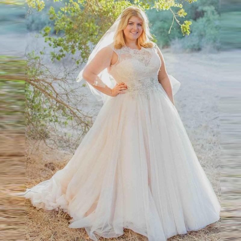 plus size country wedding dresses photo - 1