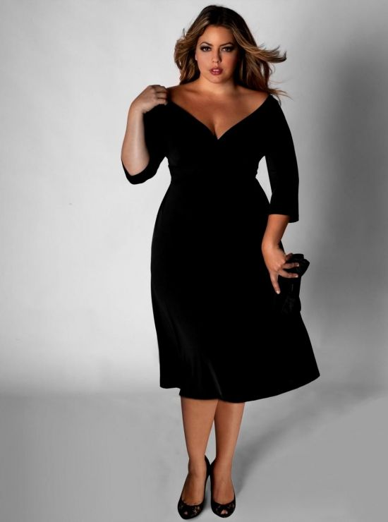 plus size dresses for outdoor wedding photo - 1