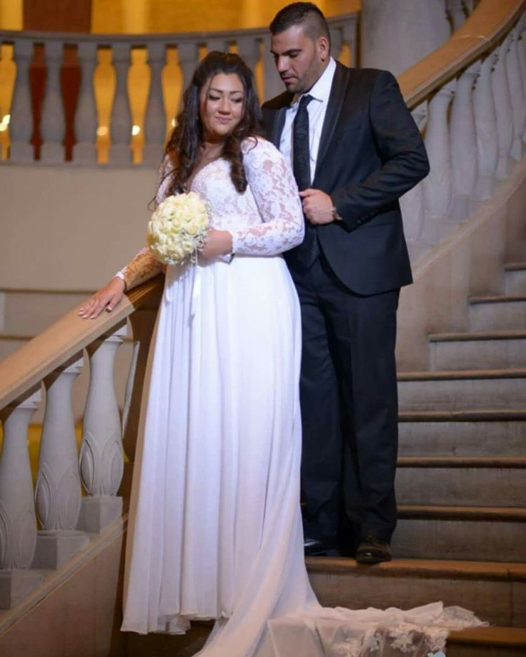 plus size dresses for wedding photo - 1