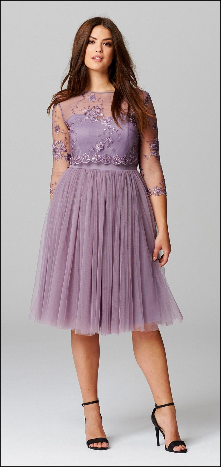 plus size dresses for wedding guests photo - 1