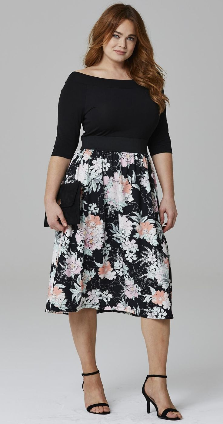 plus size dresses to wear to a wedding with sleeves photo - 1