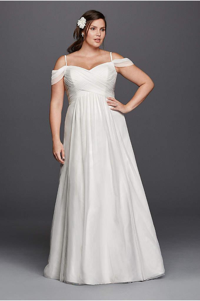 plus size empire waist wedding dresses photo - 1