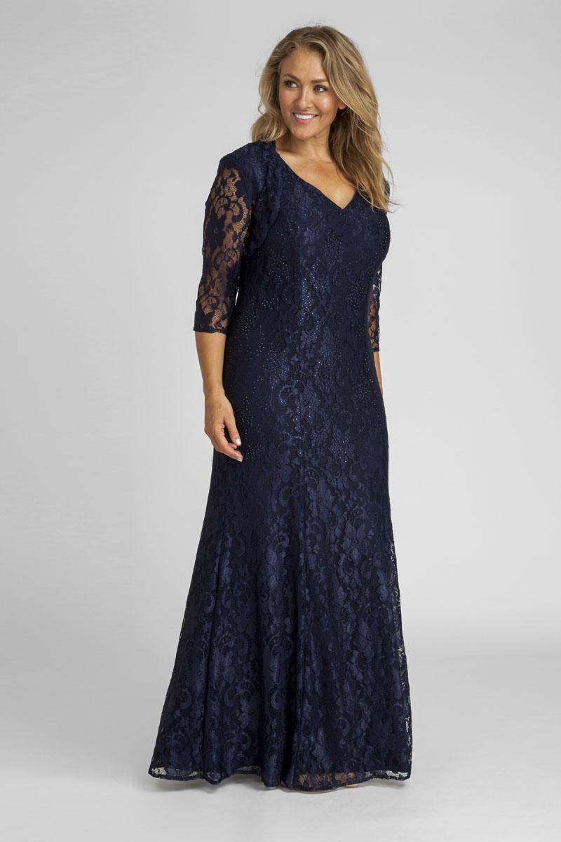 plus size evening wear dresses photo - 1