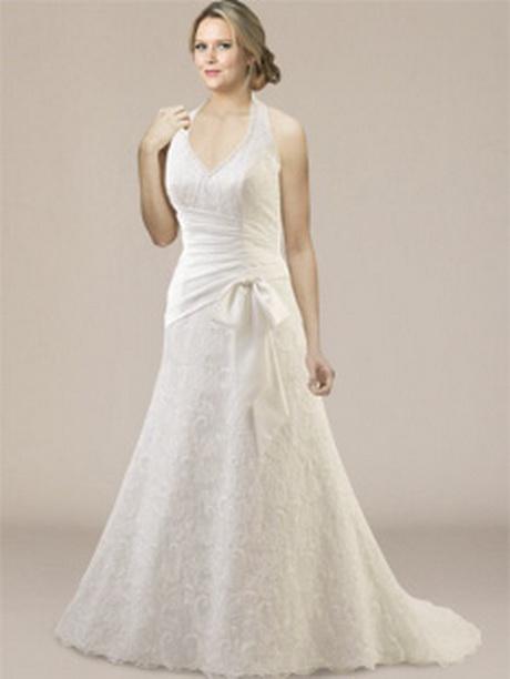 plus size informal wedding dresses photo - 1