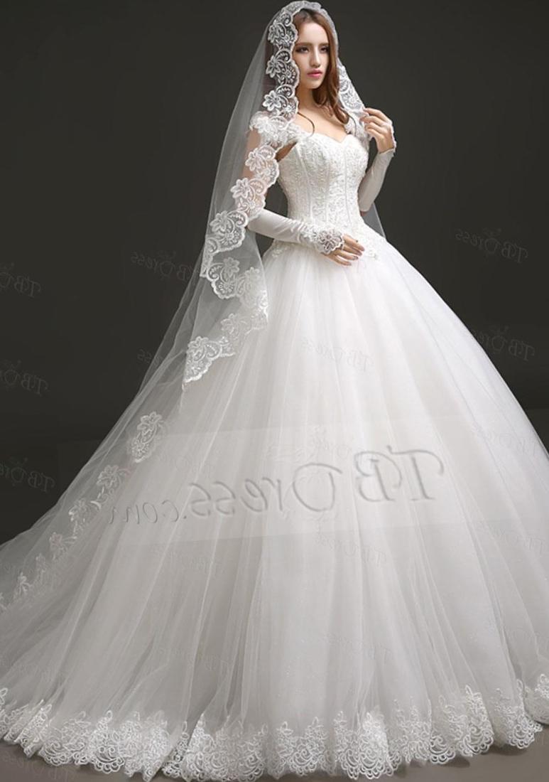 plus size long dresses for wedding photo - 1