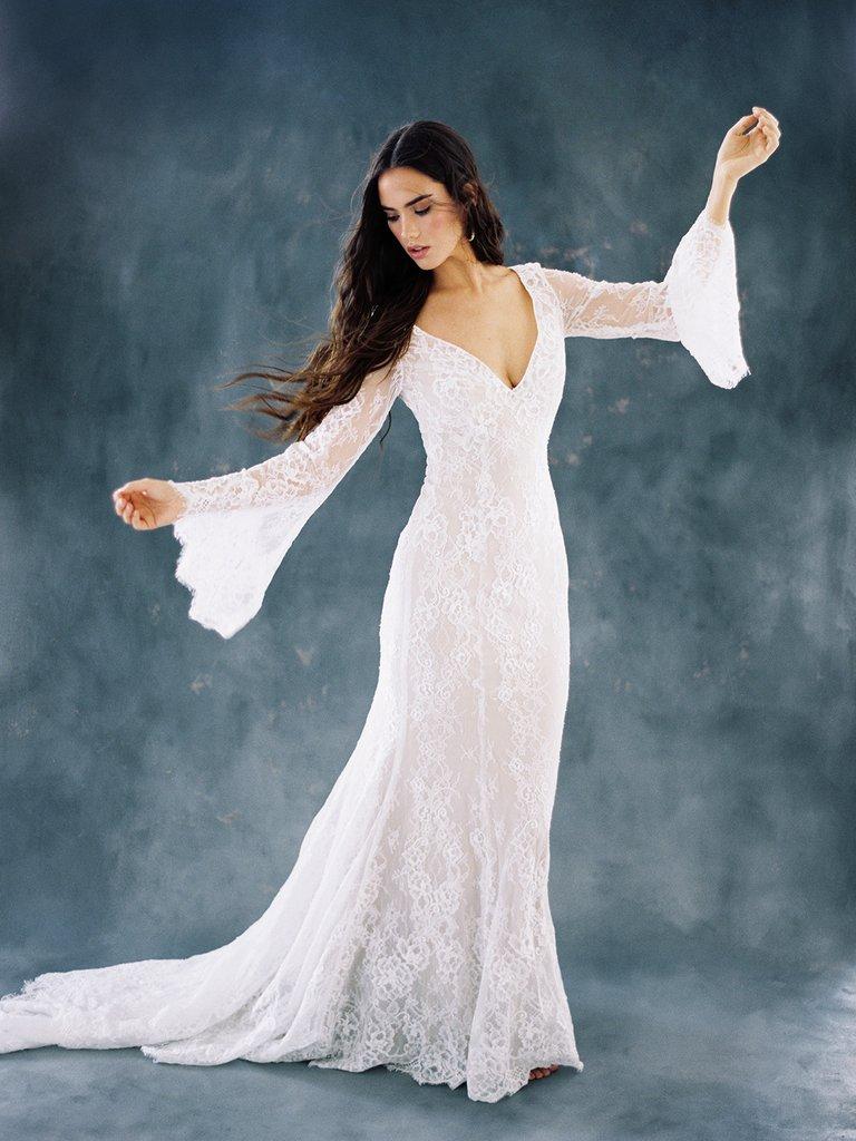 plus size retro wedding dresses photo - 1