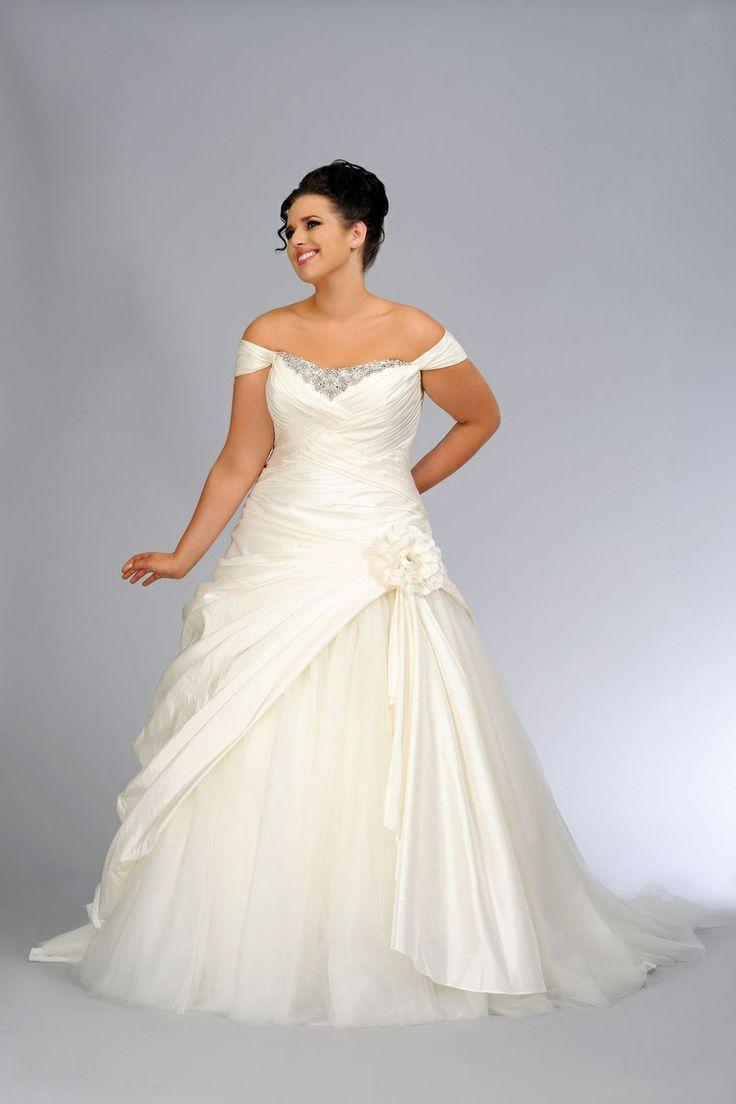 plus size second wedding dresses photo - 1