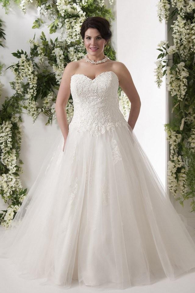plus size wedding dresses dallas photo - 1