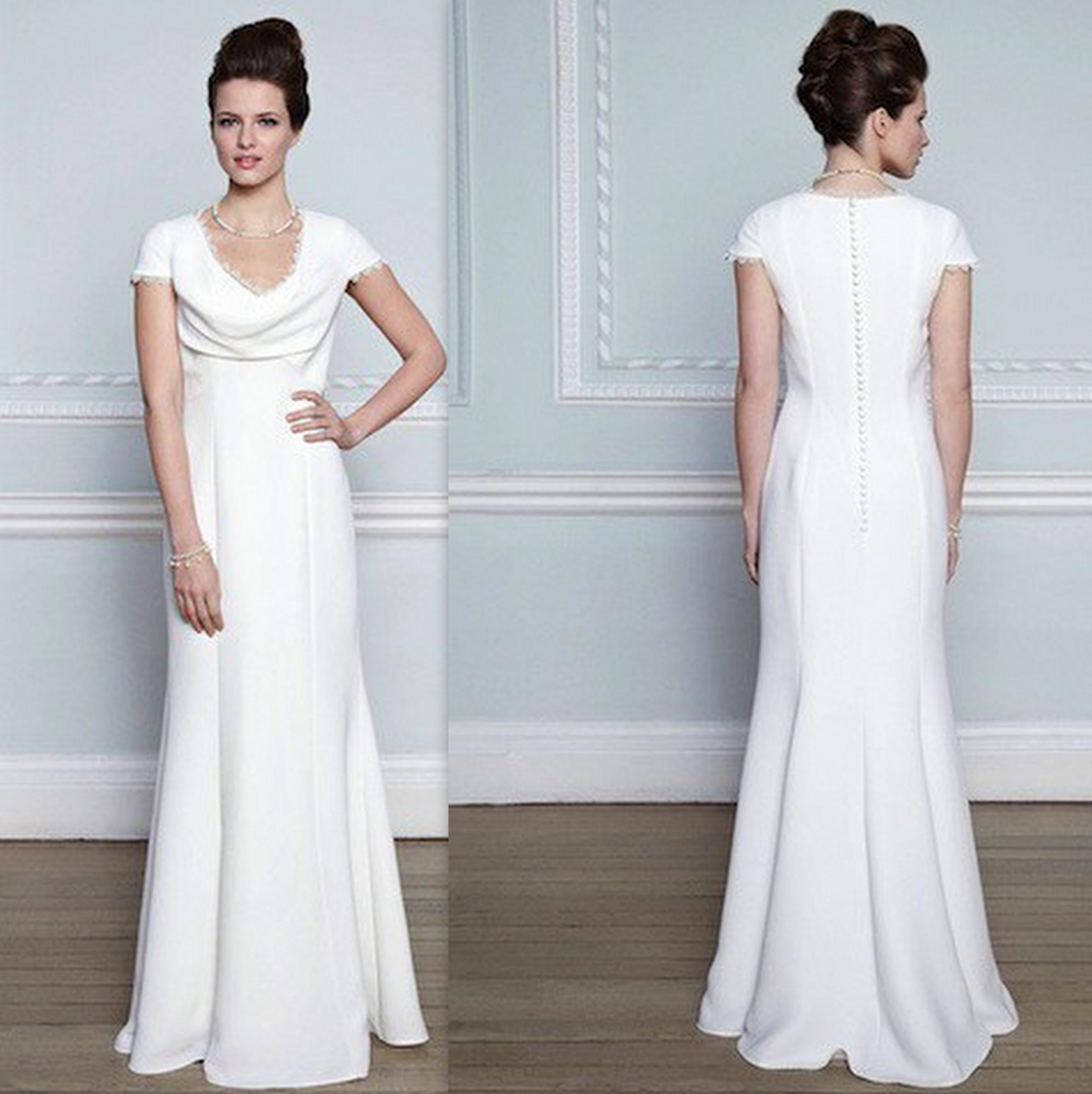 plus size wedding dresses for beach wedding photo - 1