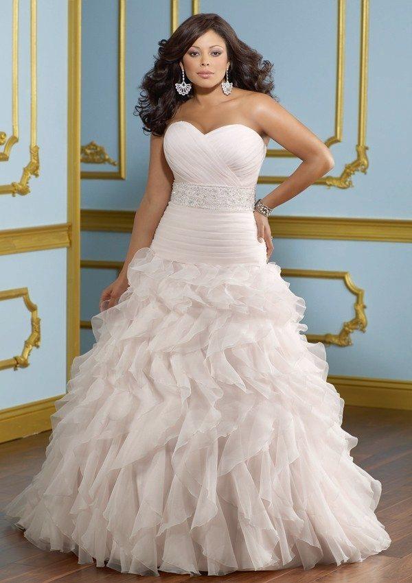 plus size wedding dresses mn photo - 1