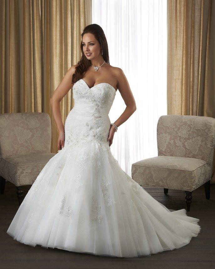 plus sized wedding dresses photo - 1