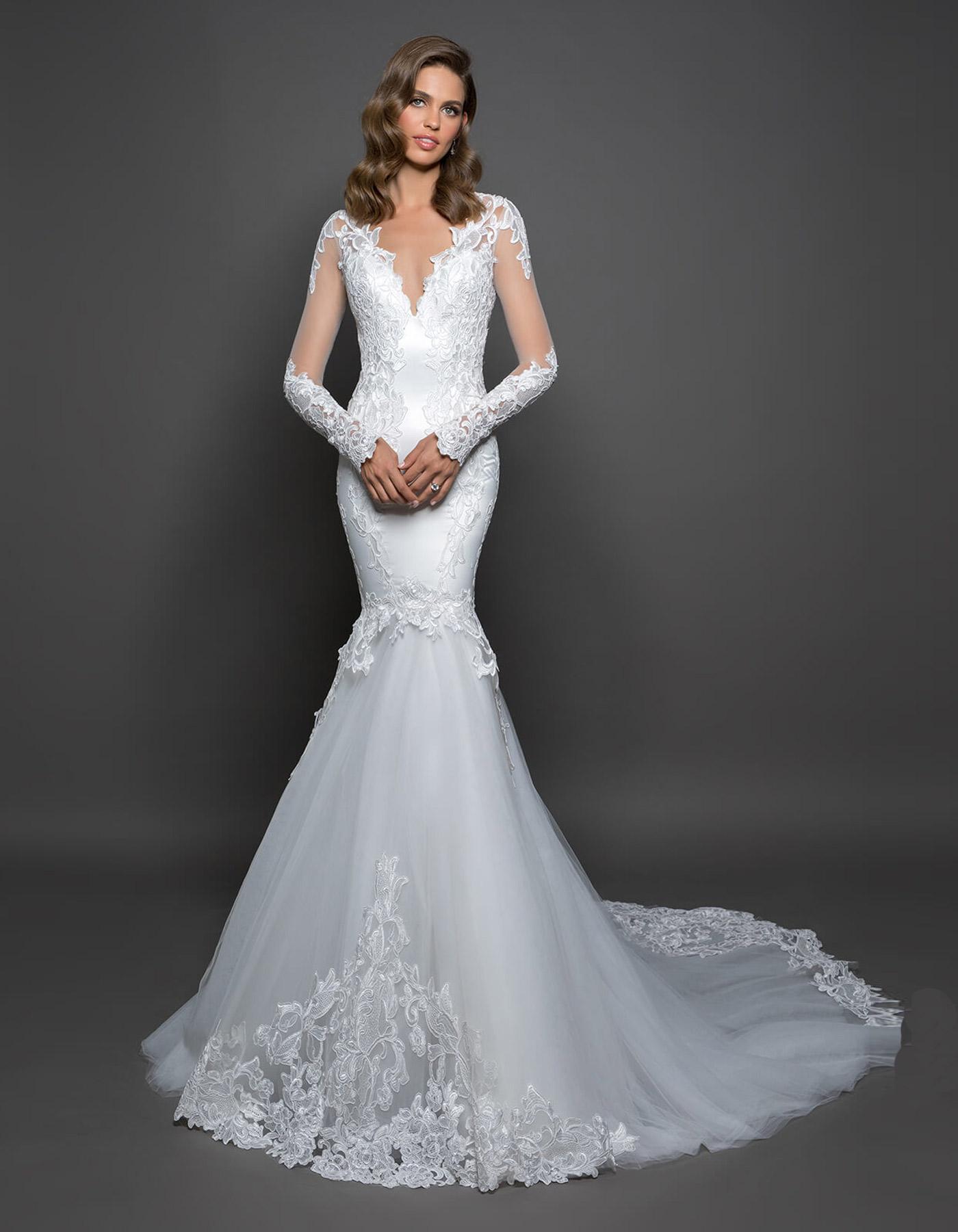 pnina tornai lace wedding dresses photo - 1
