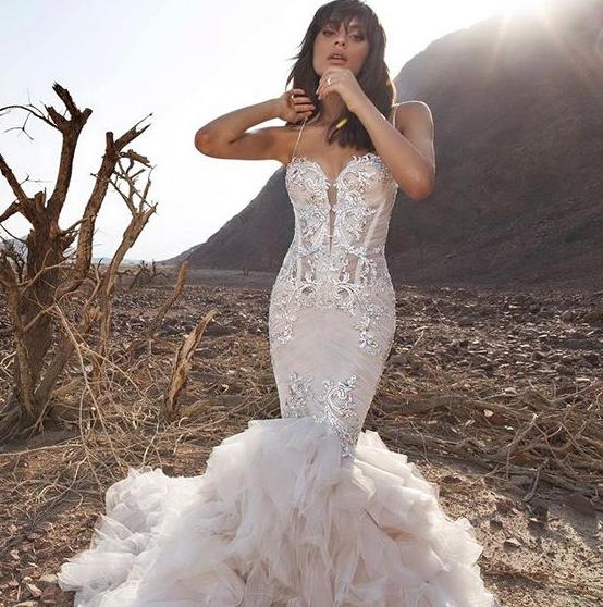 pnina tornai mermaid wedding dresses photo - 1