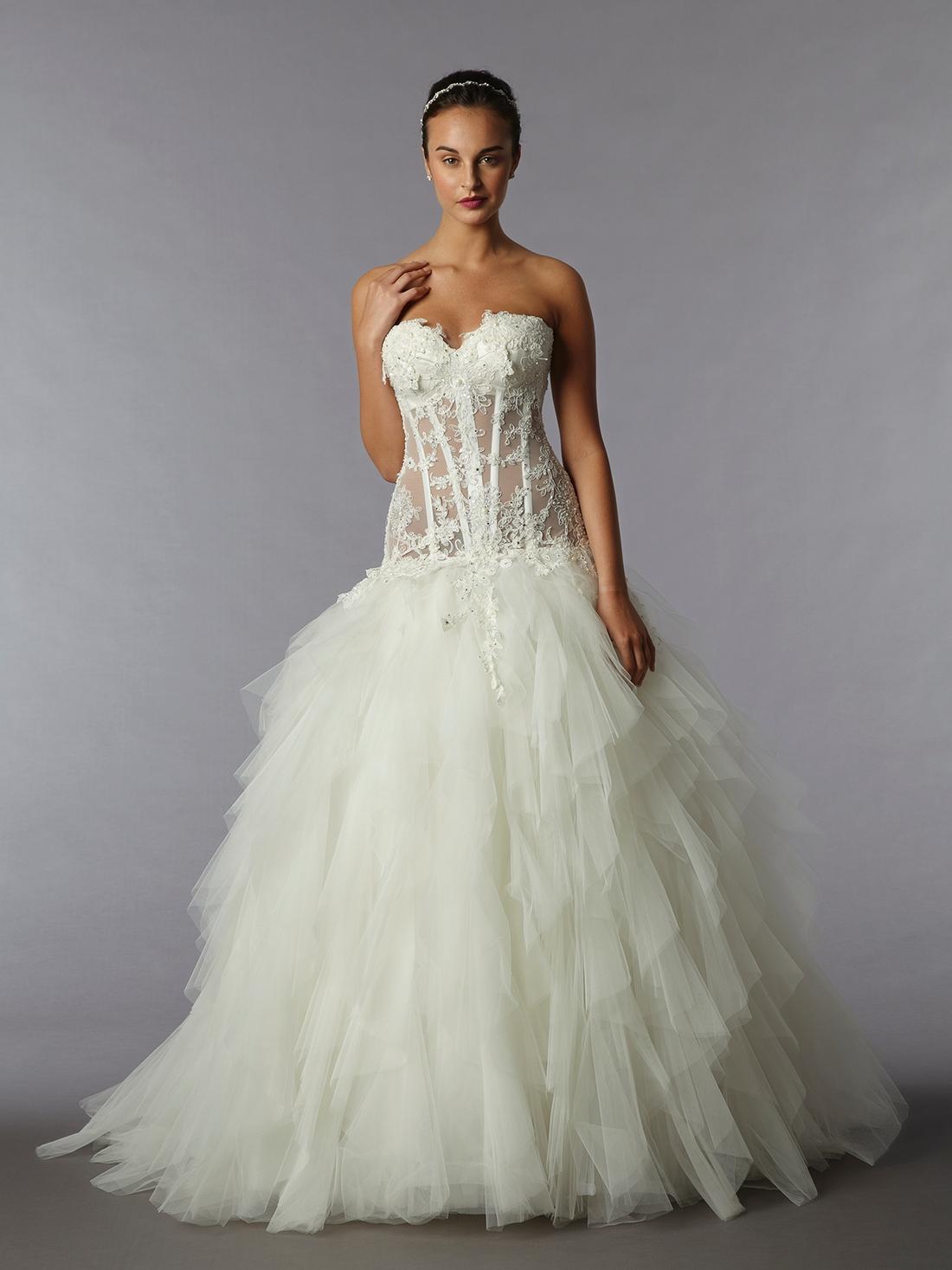 pnina tornai see through wedding dresses photo - 1