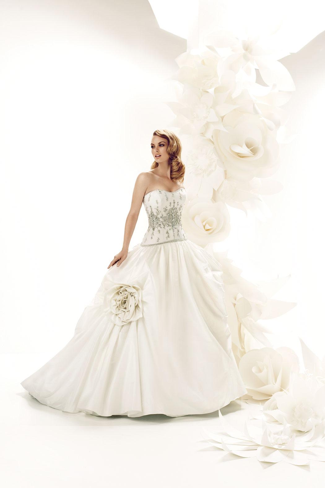posh wedding dresses photo - 1