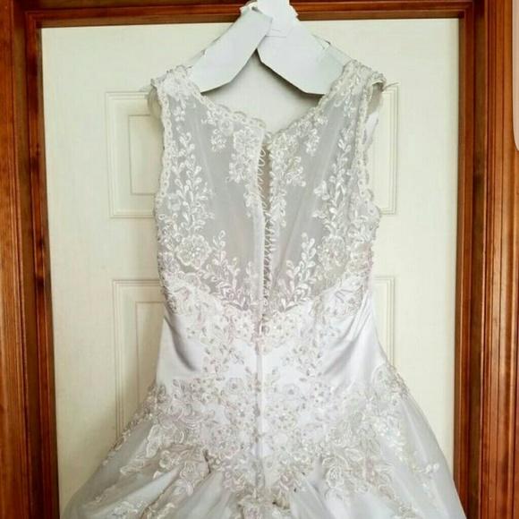 poshmark wedding dresses photo - 1