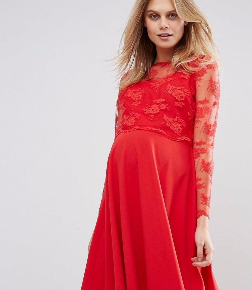 pregnancy dresses for wedding photo - 1