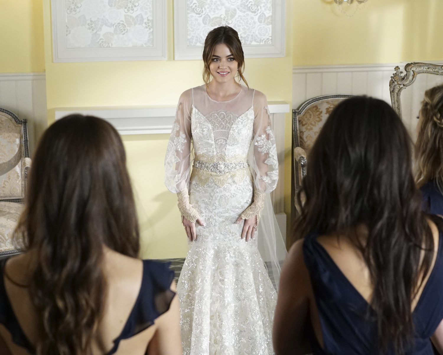 pretty dresses for wedding guests photo - 1