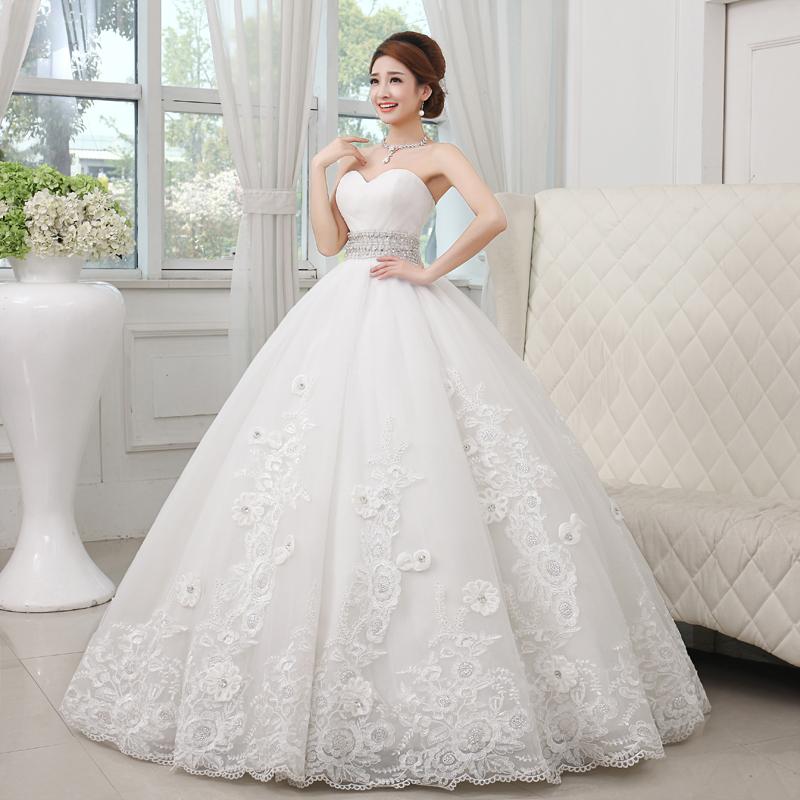 princess cut wedding dresses photo - 1