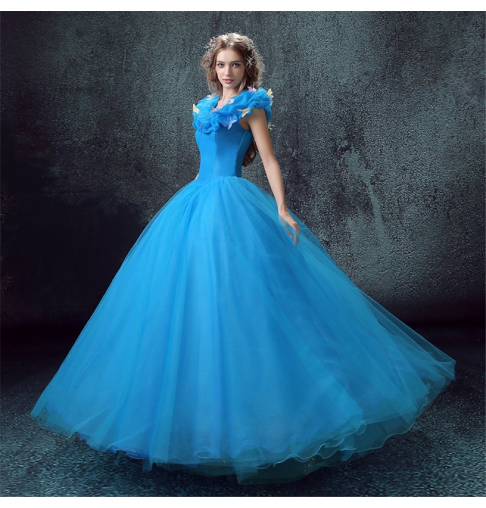 princess dresses for adults wedding photo - 1