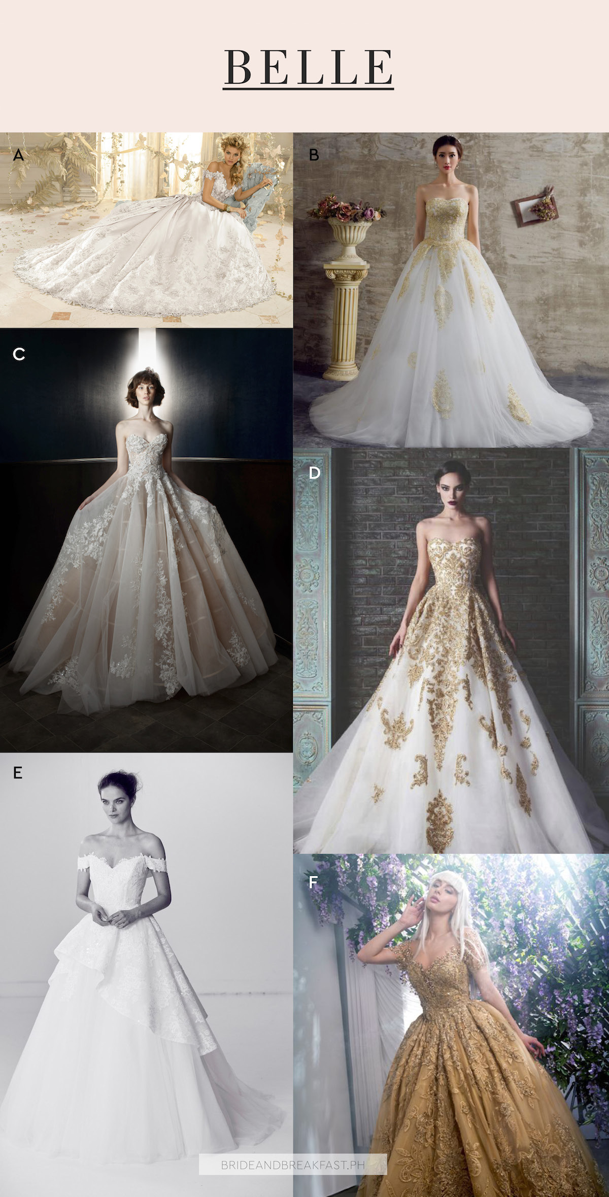 princess inspired wedding dresses photo - 1