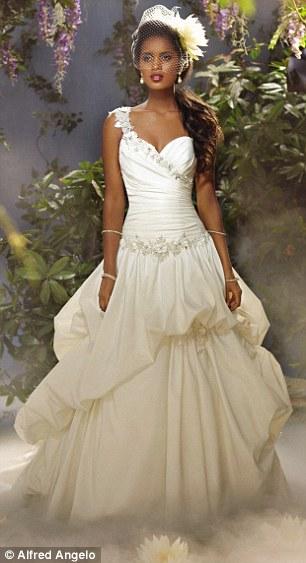 princess like wedding dresses photo - 1