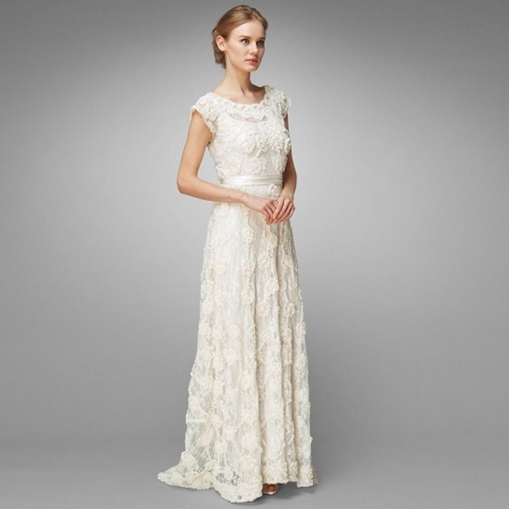 priscilla of boston wedding dresses photo - 1