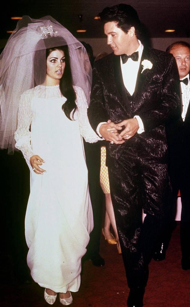 priscilla presley wedding dresses photo - 1
