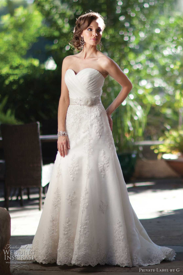 private label by g wedding dresses photo - 1