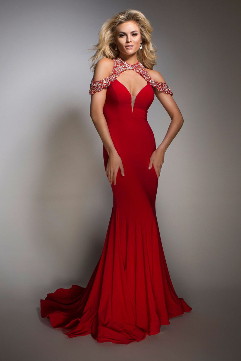 prom evening dresses photo - 1