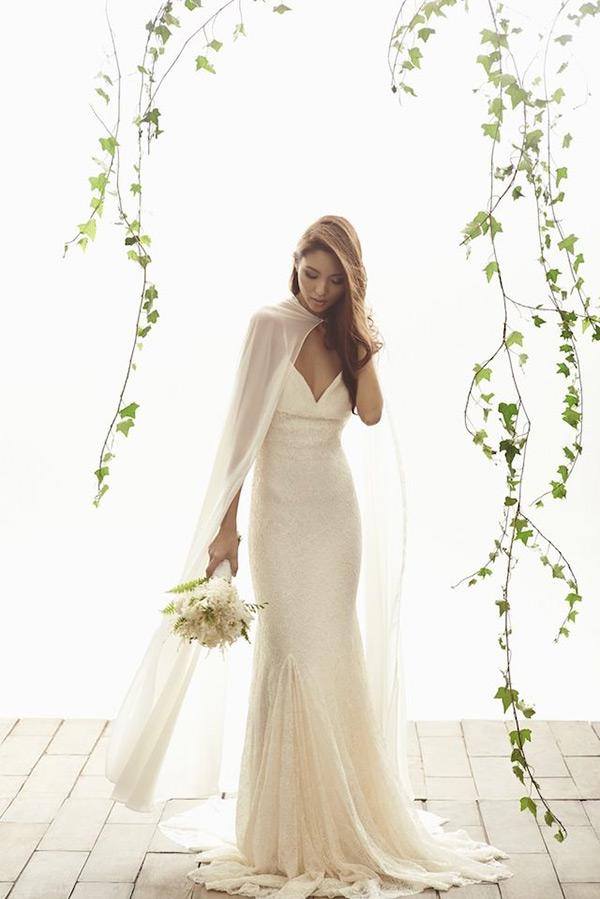 pure white wedding dresses photo - 1
