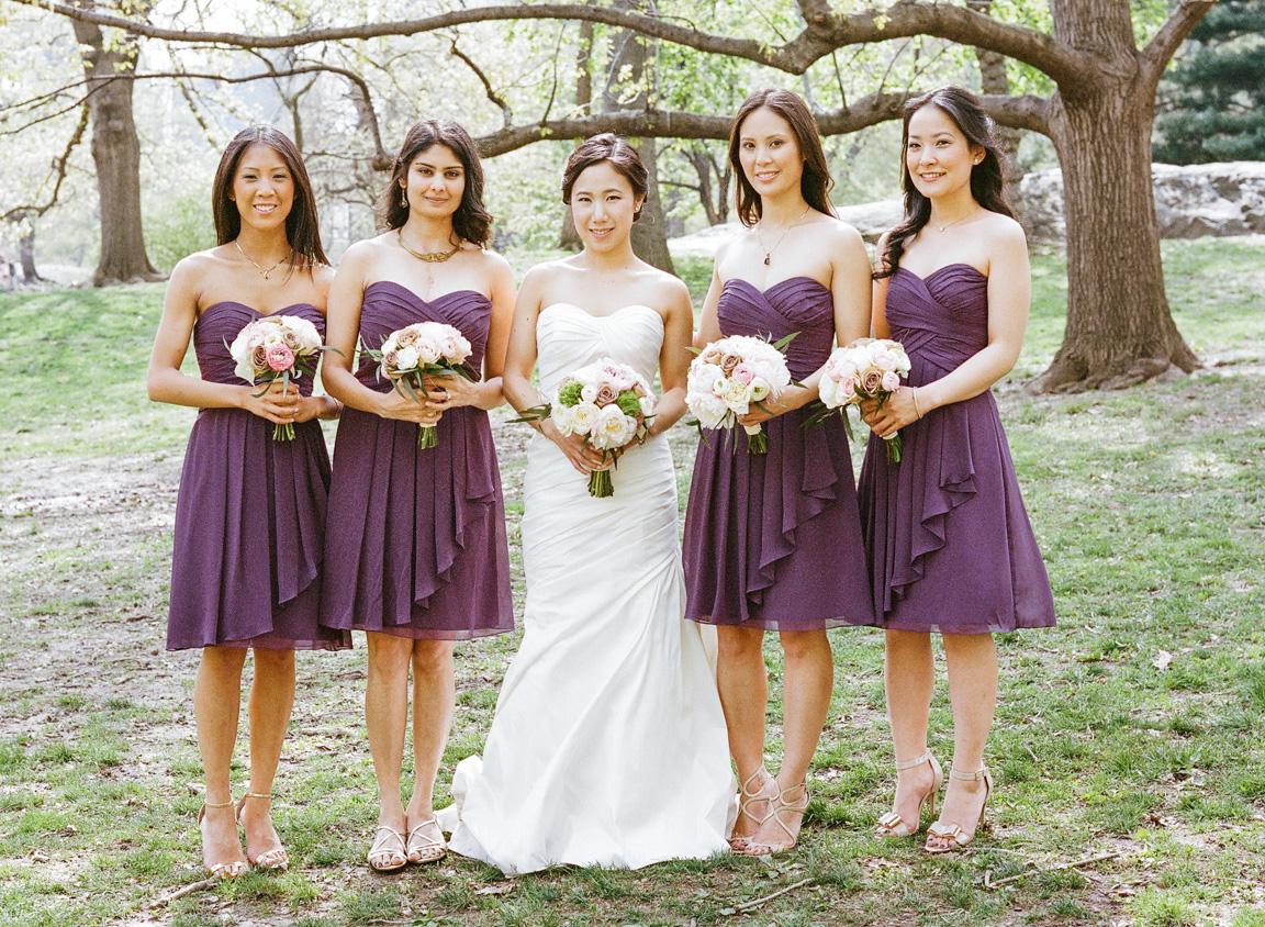 purple wedding dresses photo - 1