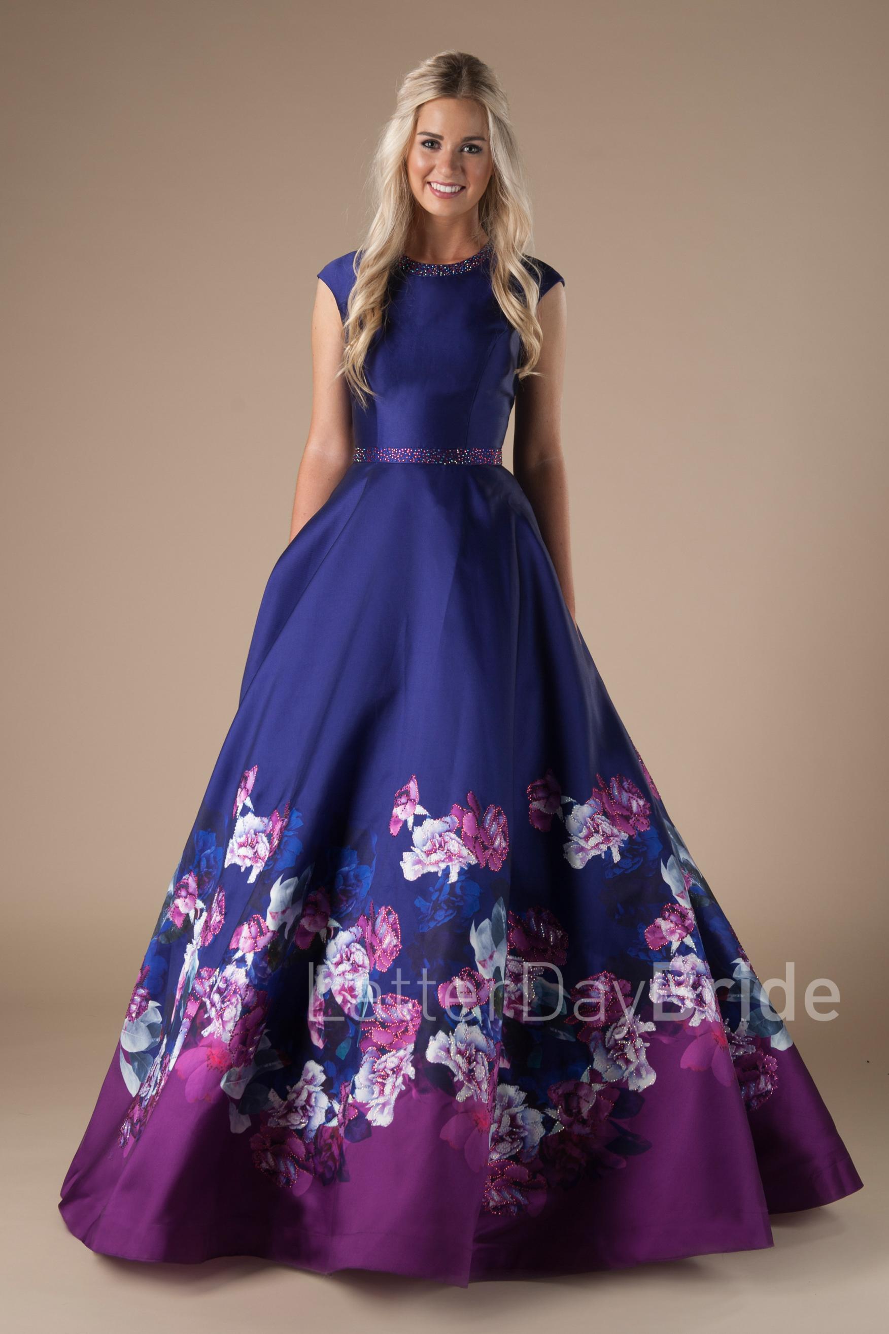 purple wedding dresses for sale photo - 1