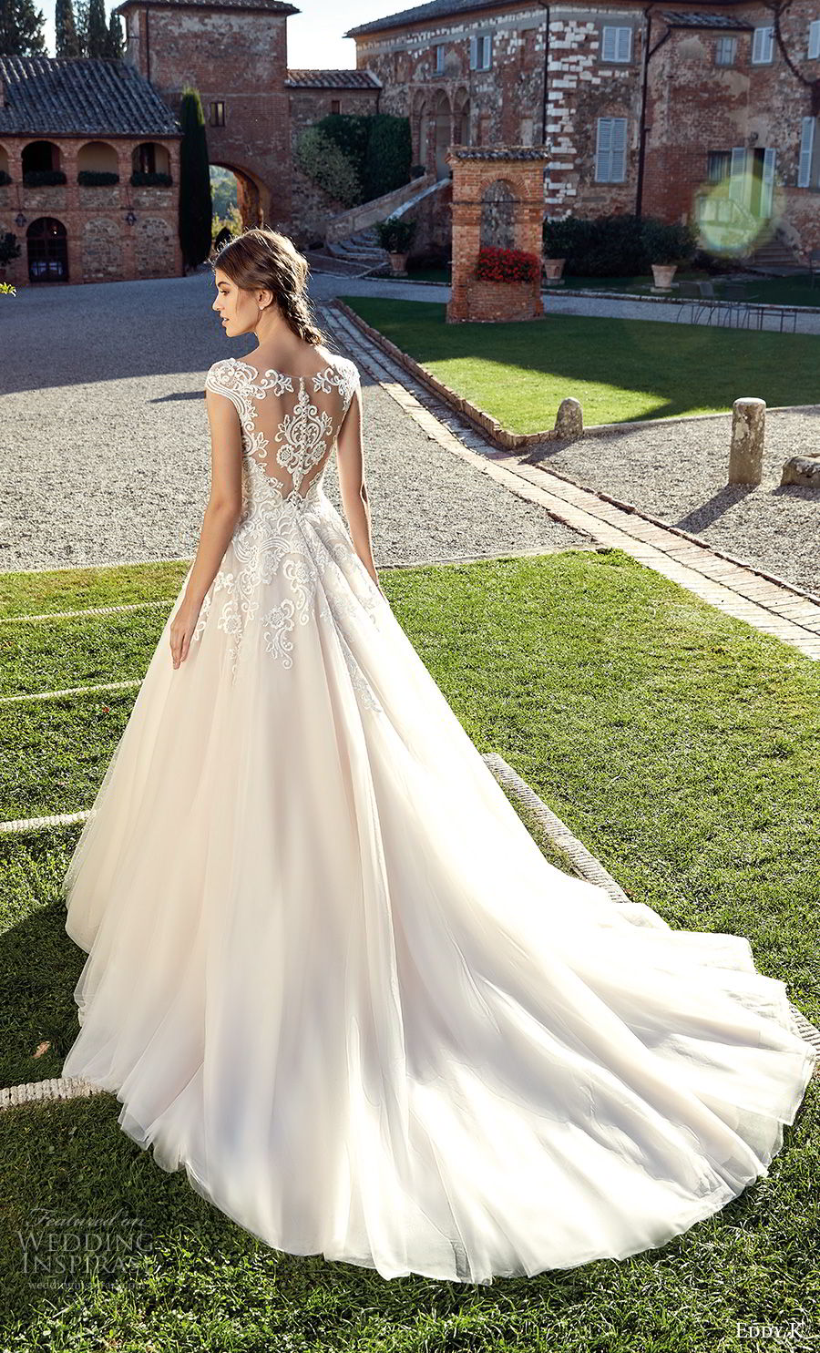 racerback wedding dresses photo - 1