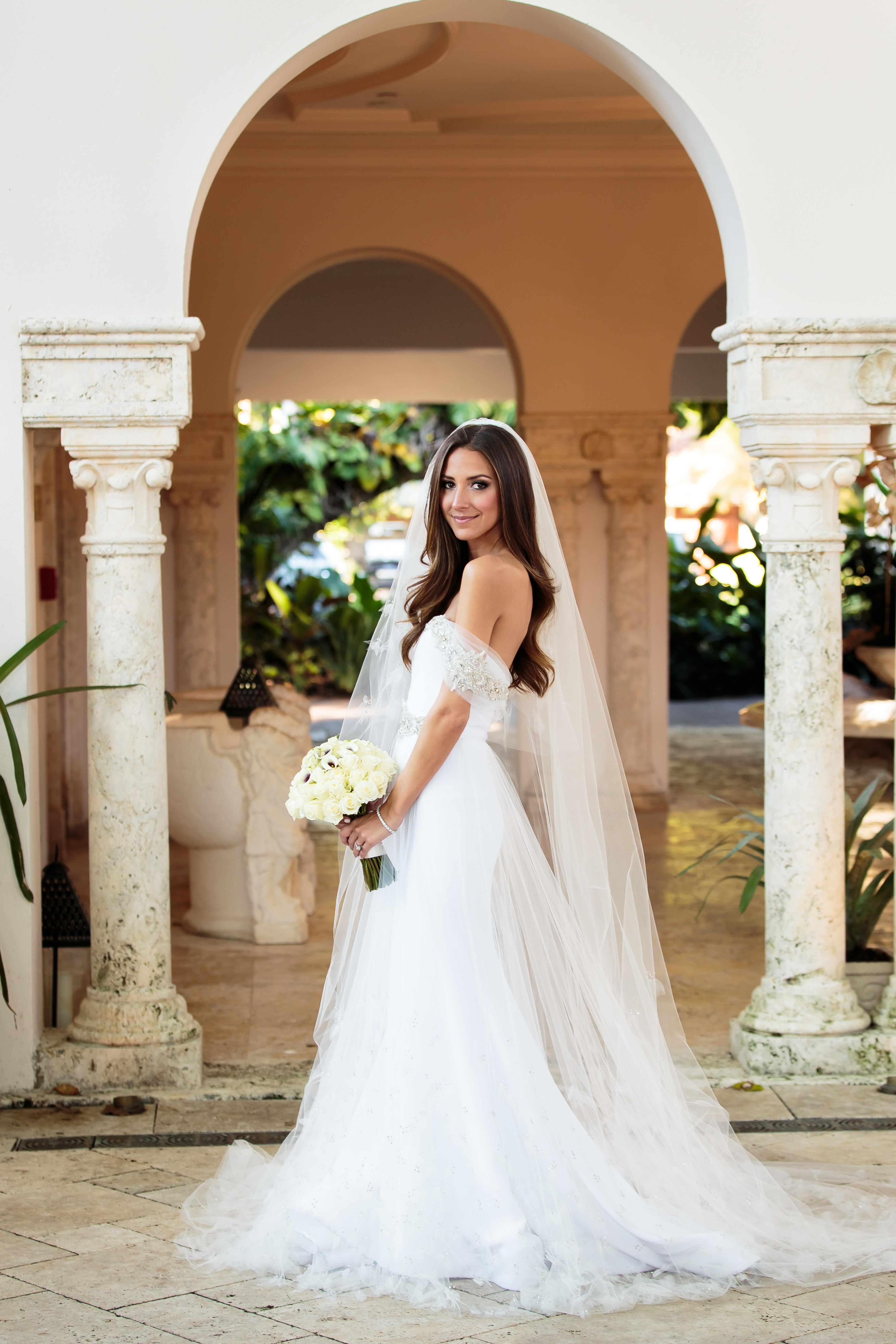 real brides in wedding dresses photo - 1