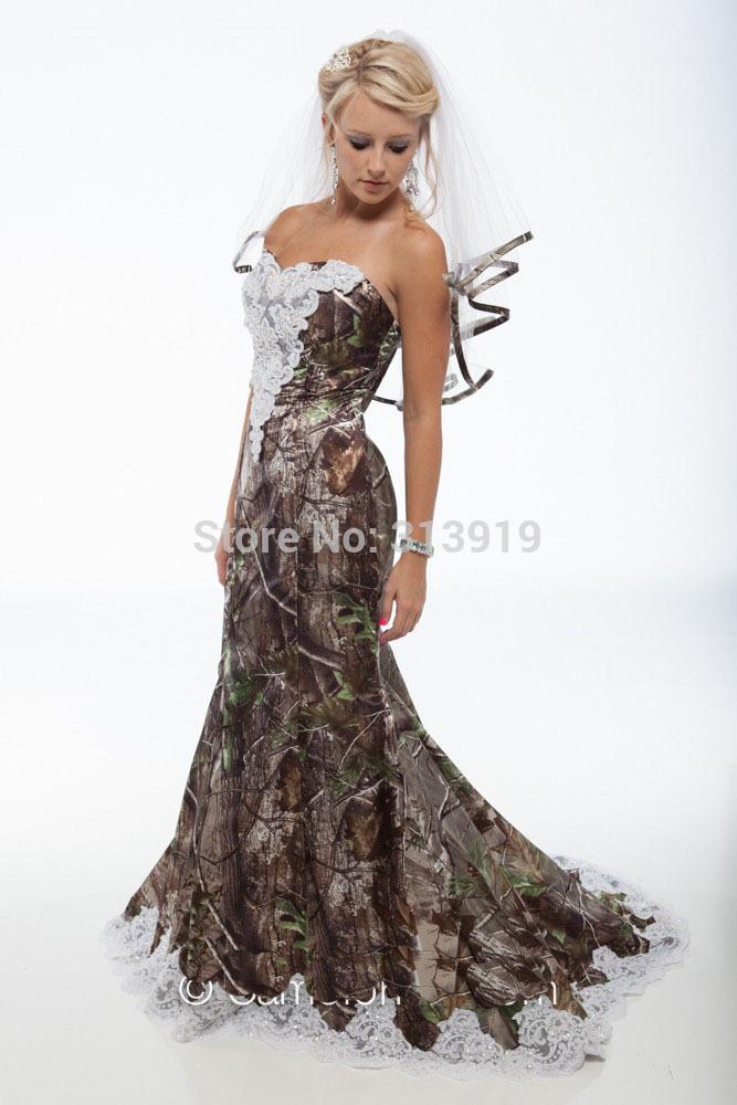 realtree camo wedding dresses photo - 1