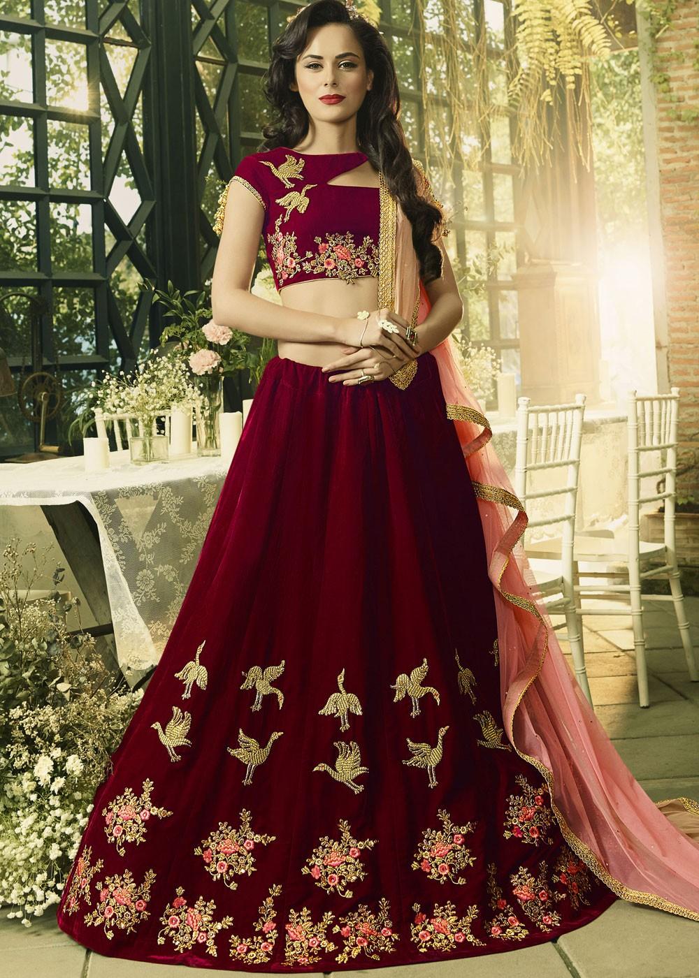 red black wedding dresses photo - 1