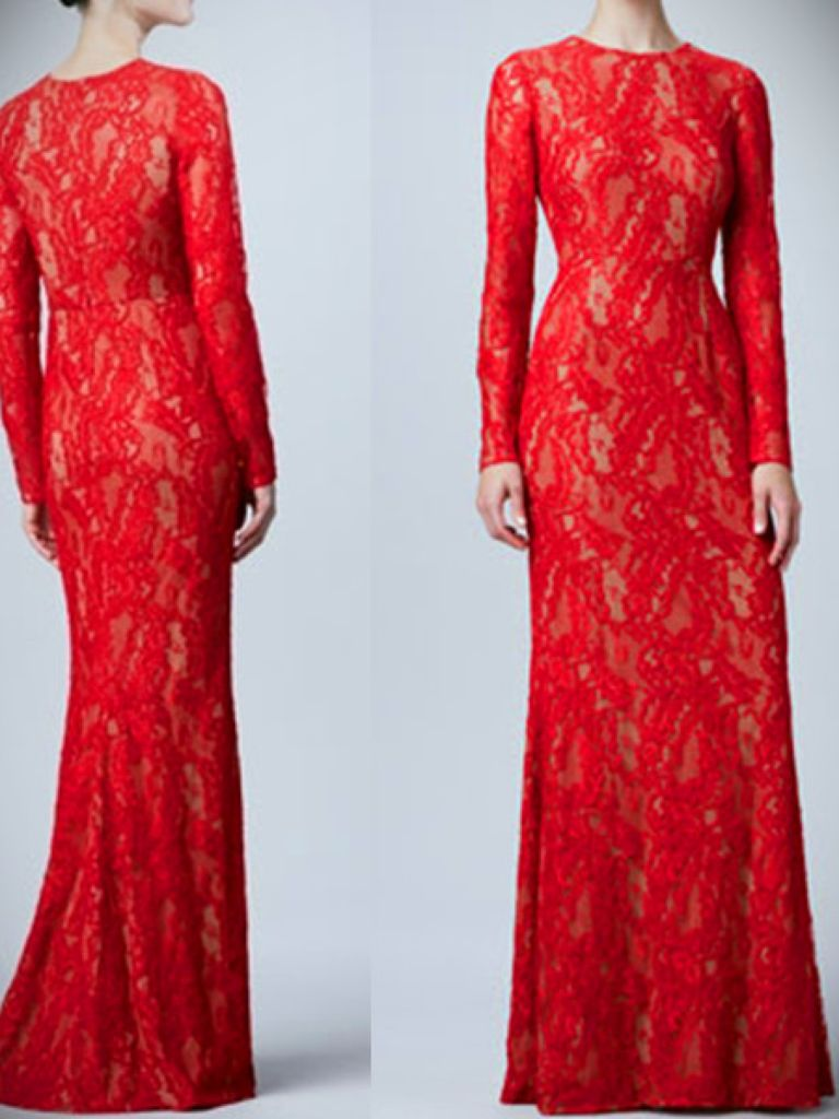 red wedding dresses meaning photo - 1