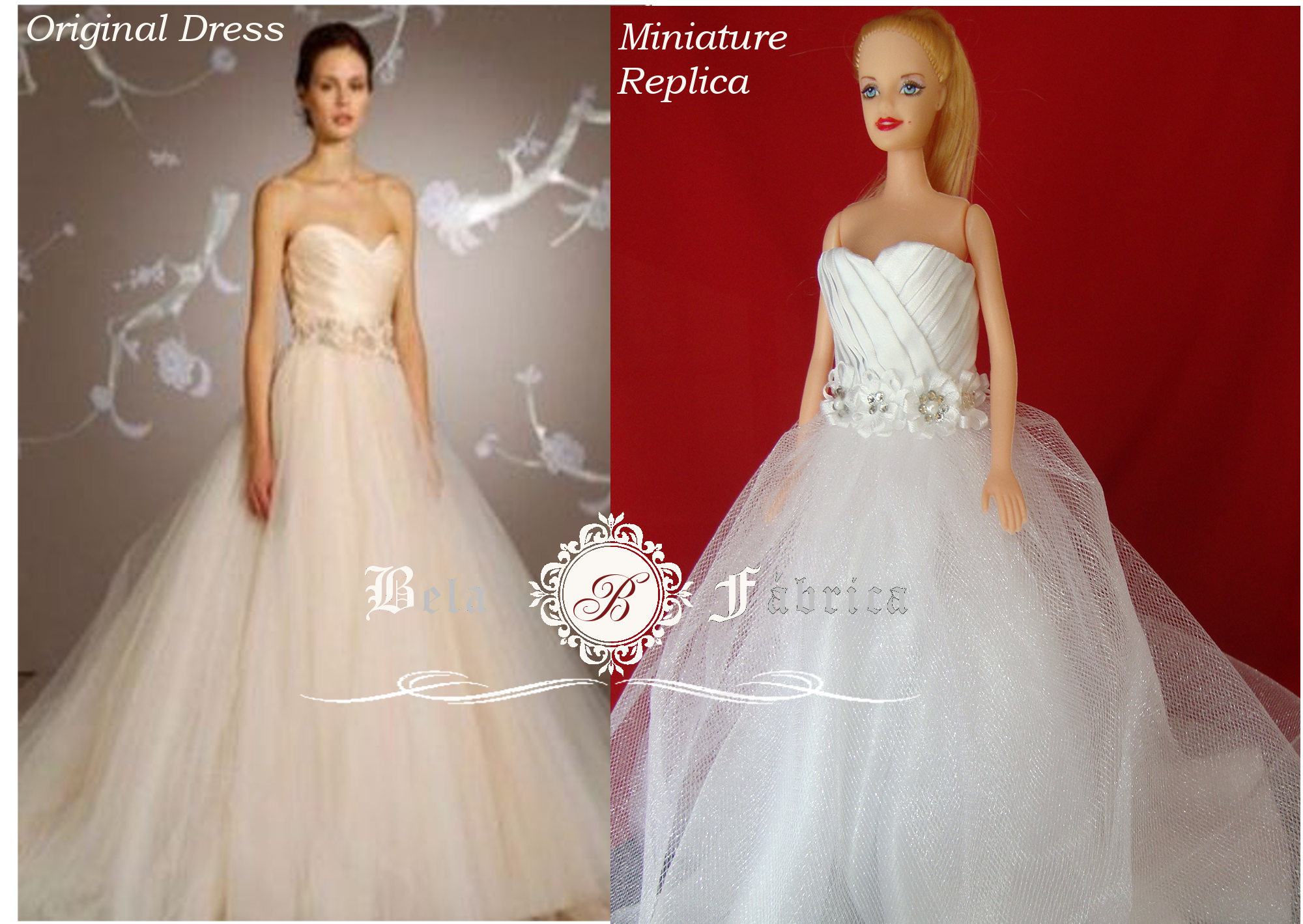 replica wedding dresses photo - 1