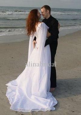 retro wedding dresses plus size photo - 1