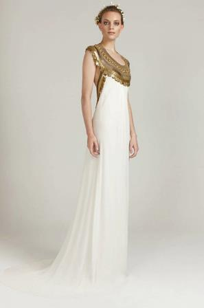roman style wedding dresses photo - 1