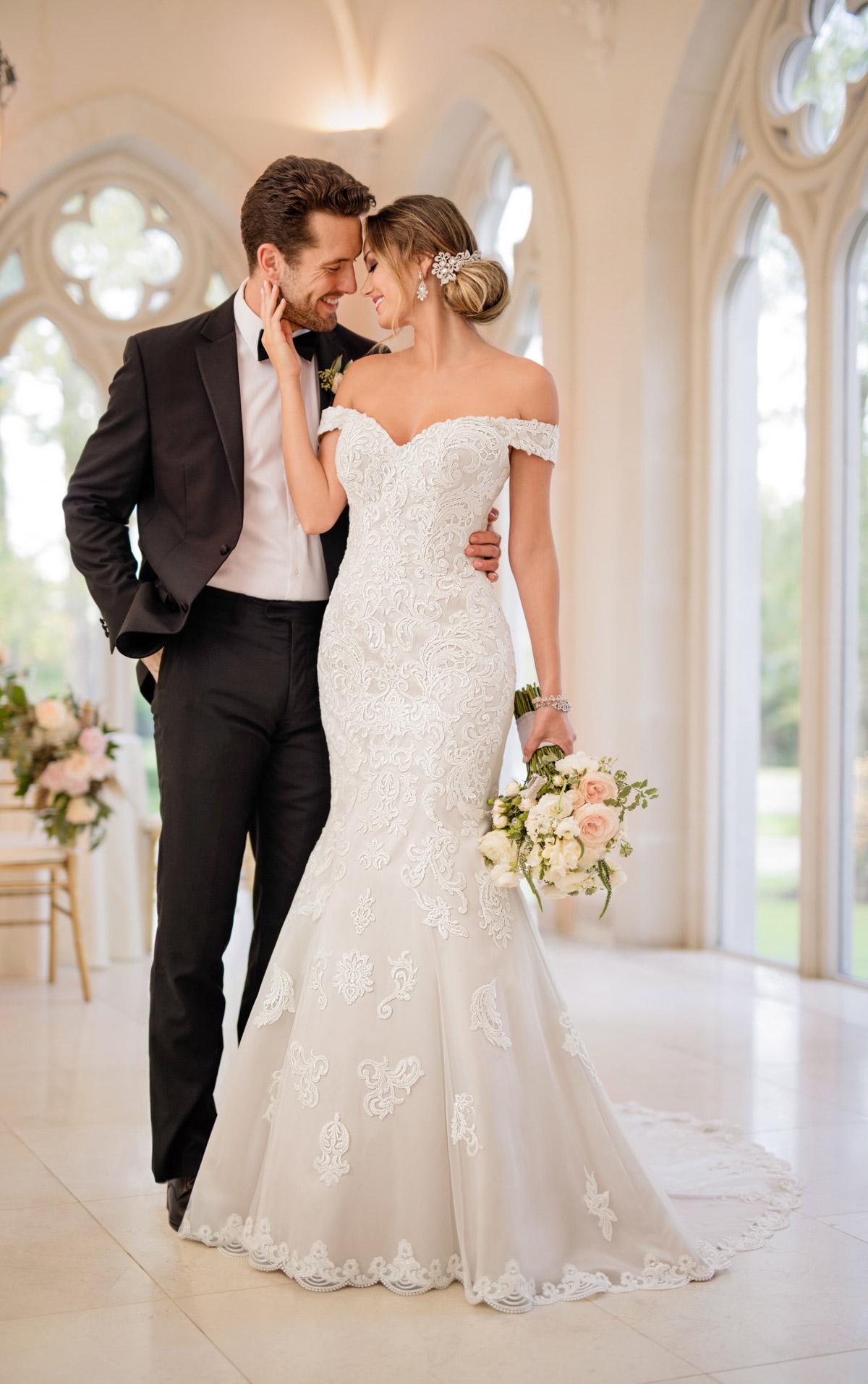 romantic beach wedding dresses photo - 1