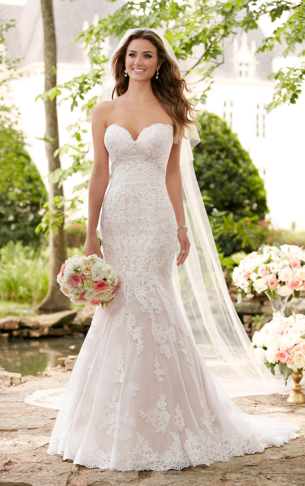 romantic lace wedding dresses photo - 1