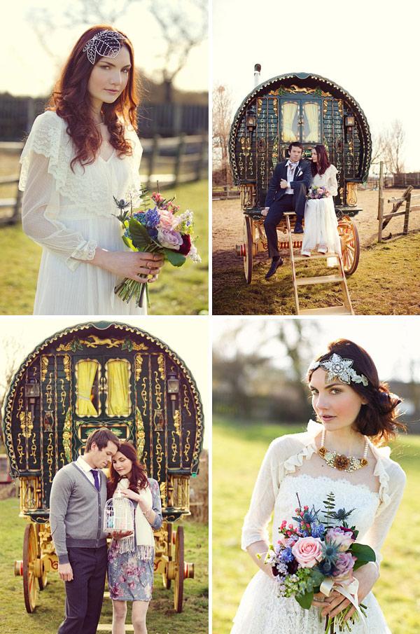 romany gypsy wedding dresses photo - 1