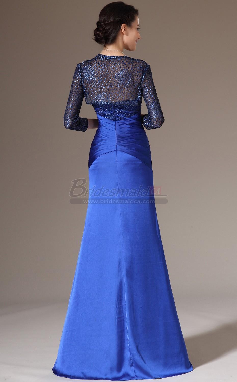 royal blue and yellow wedding dresses photo - 1