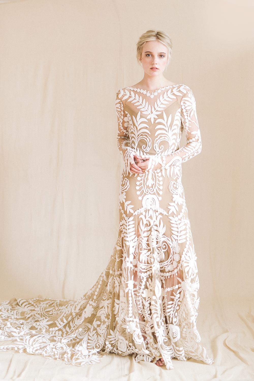 rue de seine wedding dresses photo - 1