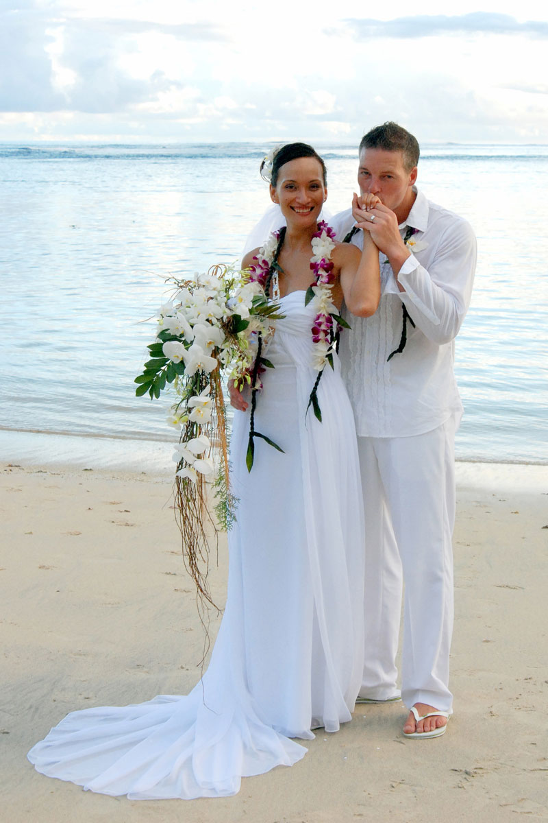 samoa wedding dresses photo - 1