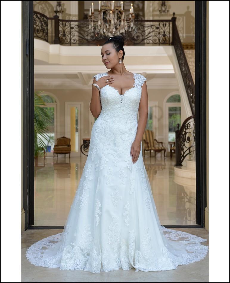 second hand wedding dresses near me photo - 1