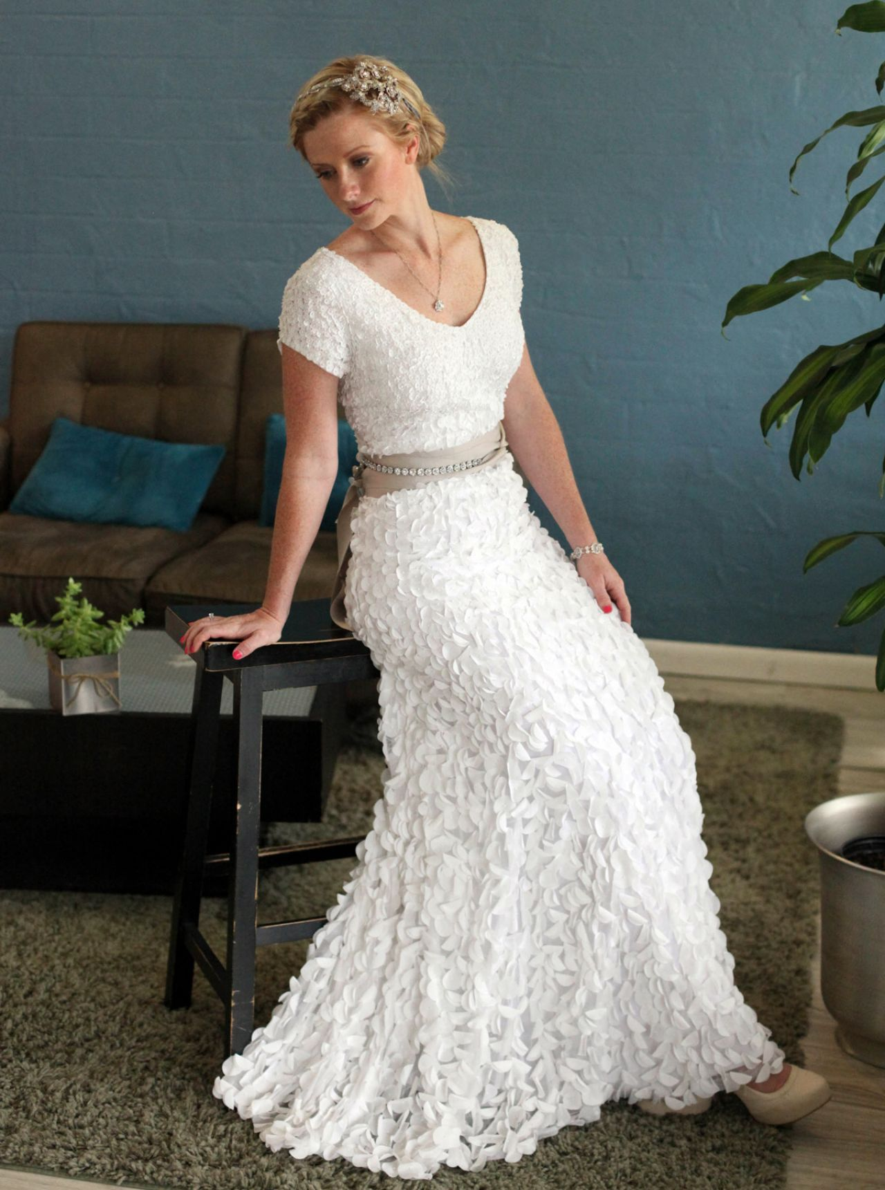 second marriage wedding dresses for older brides photo - 1